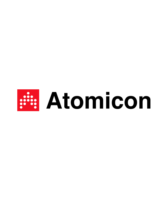 Atomicon logo design