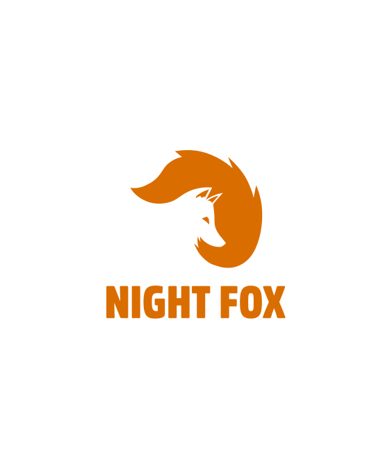 Night Fox logo design