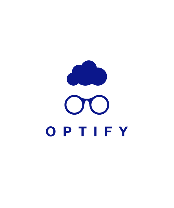 Optify logo design