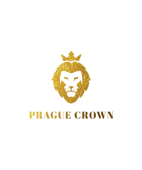Prague crown logo design