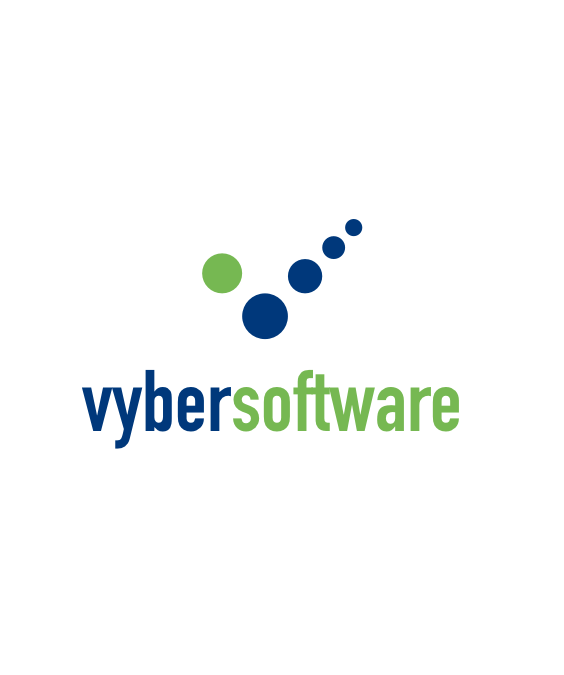 Vyber software logo design