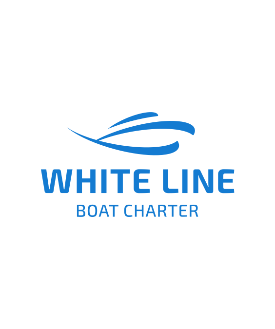 White Line logo design